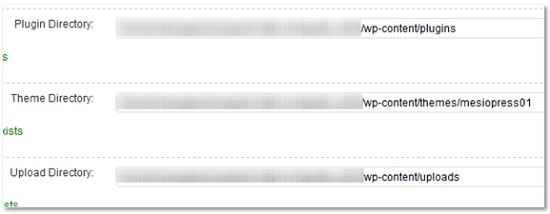 WordPress Backup (by BTE)設定画面